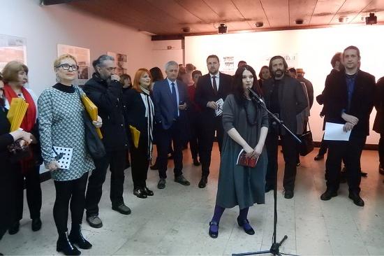 Sanela Nuhanović pozdravila je goste ispred Collegiuma artisticuma