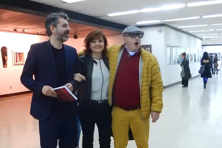 Adnana Harambašić, Amna Mahić Bajrović i Amir Vuk Zec su izlagali na ovoj izložbi